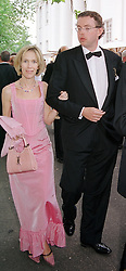 MR & MRS HANS RAUSING jnr. at a party in <br /> London on 3rd June 2000.  OEZ 152<br /> © Desmond O'Neill Features:- 020 8971 9600<br />    10 Victoria Mews, London.  SW18 3PY <br /> www.donfeatures.com   photos@donfeatures.com<br /> MINIMUM REPRODUCTION FEE AS AGREED.<br /> PHOTOGRAPH BY DOMINIC O'NEILL