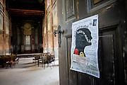 Die alte jüdischen Synagoge in Prag Liben wo Bohumil Hrabal zeitweise arbeitete.