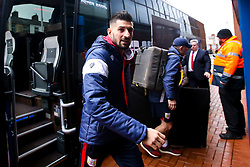 Eros Pisano of Bristol City arrives at Ewood Park for the Sky Bet Championship fixture against Blackburn Rovers - Mandatory by-line: Robbie Stephenson/JMP - 09/02/2019 - FOOTBALL - Ewood Park - Blackburn, England - Blackburn Rovers v Bristol City - Sky Bet Championship