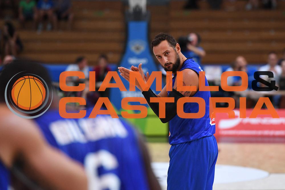 Marco Belinelli<br /> Nazionale Italiana Maschile Senior - Trentino Basket Cup 2017<br /> Italia - Paesi Bassi / Italy - Netherlands<br /> FIP 2017<br /> Trento, 30/07/2017<br /> Foto Agenzia Ciamillo-Castoria