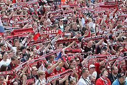 25.05.2015, Rathaus Platz, Ingolstadt, GER, 2. FBL, FC Ingolstadt 04, Aufstiegsfeier, im Bild ca.5000 Fans feiern auf dem Rathausplatz in Ingolstadt // during the 2nd German Bundesliga championship party of FC Ingolstadt 04 at the Rathaus Platz in Ingolstadt, Germany on 2015/05/25. EXPA Pictures © 2015, PhotoCredit: EXPA/ Eibner-Pressefoto/ Strisch<br /> <br /> *****ATTENTION - OUT of GER*****