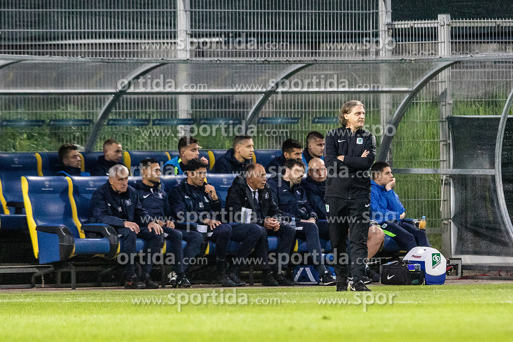 Hadzic Sefet coach of NK Olimpija during football game between NK Olimpija Ljubljana and NK Maribor in Final Round (18/19)  of Pokal Slovenije 2018/19, on 30th of May, 2014 in Arena Z'dezele, Ljubljana, Slovenia. Photo by Matic Ritonja / Sportida
