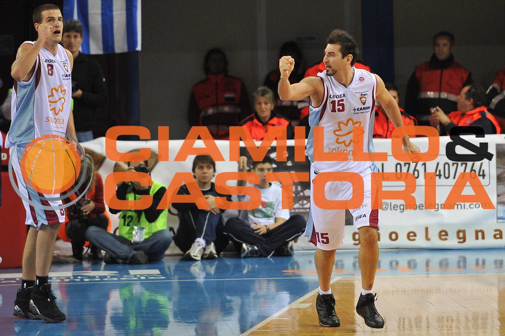 DESCRIZIONE : Rieti Lega A1 2008-09 Solsonica Rieti Angelico Biella<br /> GIOCATORE : Mario Gigena<br /> SQUADRA : Solsonica Rieti<br /> EVENTO : Campionato Lega A1 2008-2009 <br /> GARA : Solsonica Rieti Angelico Biella<br /> DATA : 23/11/2008 <br /> CATEGORIA : Esultanza<br /> SPORT : Pallacanestro <br /> AUTORE : Agenzia Ciamillo-Castoria/E.Grillotti<br /> GALLERIA : Lega Basket A1 2008-2009 <br /> FOTONOTIZIA : Rieti Campionato Italiano Lega A1 2008-2009 Solsonica Rieti Angelico Biella<br /> PREDEFINITA :