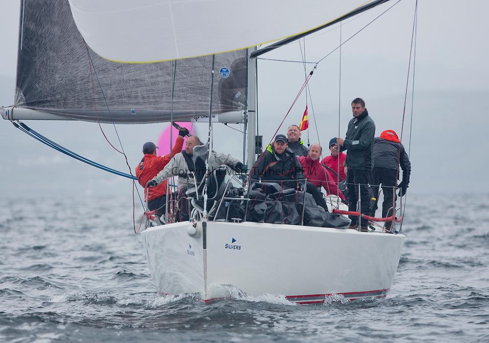 Silvers Marine Scottish Series 2017<br /> Tarbert Loch Fyne - Sailing<br /> <br /> IRL1141, Storm, Pat Kelly<br /> <br /> Credit: Marc Turner / CCC