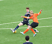 Dundee United's Scott lochhead and Dundee's Matty Allan - Dundee v Dundee United under 20s<br /> <br />  - &copy; David Young - www.davidyoungphoto.co.uk - email: davidyoungphoto@gmail.com