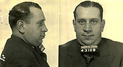 Prostitutes And Madams: Mugshots From When Montreal Was Vice Central<br /> <br /> Montreal, Canada, 1949. Le Devoir publishes a series of articles decrying lax policing and the spread of organized crime in the city. Written by campaigning lawyer Pacifique &lsquo;Pax&rsquo; Plante (1907 &ndash; 1976) and journalist G&eacute;rard Filion, the polemics vow to expose and root out corrupt officials.<br /> <br /> With Jean Drapeau, Plante takes part in the Caron Inquiry, which leads to the arrest of several police officers. Caron JA&rsquo;s Commission of Inquiry into Public Morality began on September 11, 1950, and ended on April 2, 1953, after holding 335 meetings and hearing from 373 witnesses. Several police officers are sent to prison.<br /> <br /> During the sessions, hundreds of documents are filed as evidence, including a large amount of photos of places and people related to vice.  photos of brothels, gambling dens and mugshots of people who ran them, often in cahoots with the cops &ndash; prostitutes, madams, pimps, racketeers and gamblers.<br /> <br /> Photo shows: Jack Diamond, 1940 &ndash; arrested in connection with an investigation related to the game<br /> &copy;Archives de la Ville de Montr&eacute;al/Exclusivepix Media