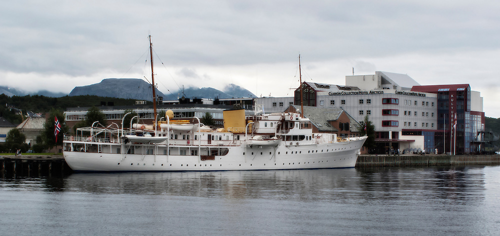 "SS ""Norge"" on a visit to Harstad 2012"