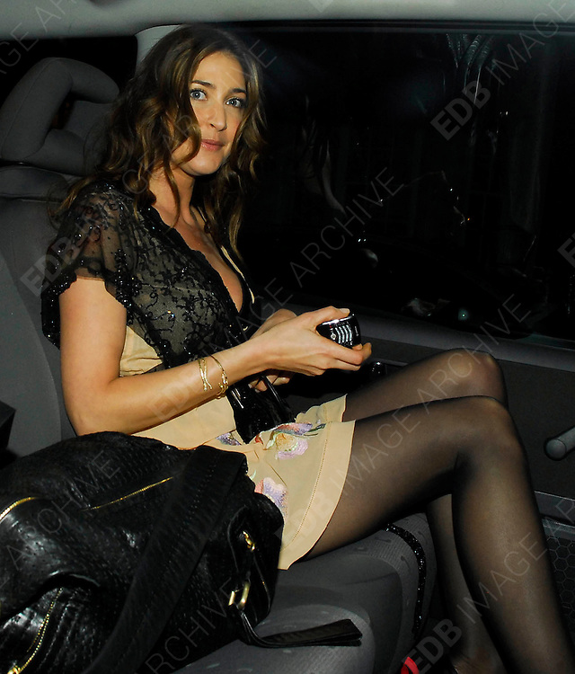 01.MAY.2008. LONDON<br /> <br /> CELEBRITIES LEAVING THE LAVENDER TRUST 10TH ANNIVERSARY PARTY WHICH WAS HELD AT CLARIDGES HOTEL, MAYFAIR.<br /> <br /> BYLINE: EDBIMAGEARCHIVE.CO.UK<br /> <br /> *THIS IMAGE IS STRICTLY FOR UK NEWSPAPERS AND MAGAZINES ONLY*<br /> *FOR WORLD WIDE SALES AND WEB USE PLEASE CONTACT EDBIMAGEARCHIVE - 0208 954 5968*