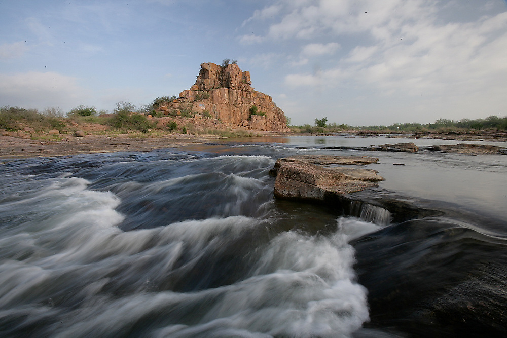 Eagle Rock on the Llano River