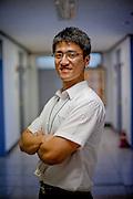 Portrait of a Keimyung University employee working in Daegu.