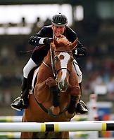 Hugo SIMON,  auf E.T.FRH<br />                   Pferdesport  Springreiten   …sterreich