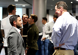 Bristol City head coach Lee Johnson mingles with guests during the Lansdown Club event - Mandatory by-line: Robbie Stephenson/JMP - 06/09/2016 - GENERAL SPORT - Ashton Gate - Bristol, England - Lansdown Club -