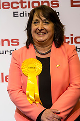 Pictured: Christine Jardine wins Edinburgh West for the Lib Dems<br /> The Edinburgh Count and  announcements ended  around 4:30 this morning with weary heads around all parties.<br /> <br /> Ger Harley | EEm 9 June 2017