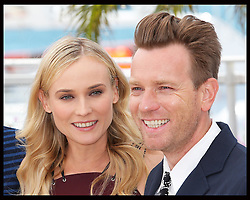 Jury members Diane Kruger and Ewan McGregor  at the opening day of the Cannes Film Festival, Wednesday  16th May 2012. Photo by: Stephen Lock / i-Images
