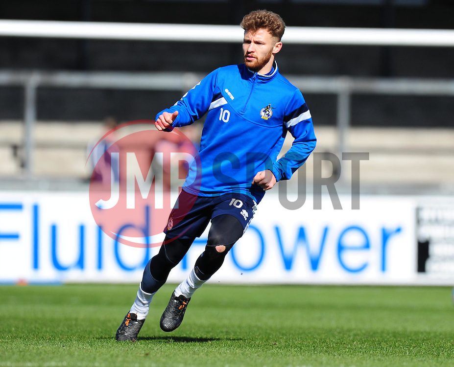 Bristol Rovers' Matty Taylor. - Photo mandatory by-line: Alex James/JMP - Mobile: 07966 386802 - 31/03/2015 - SPORT - Football - Bristol - Memorial Stadium - Vanarama Football Conference - Bristol Rovers Open Training Session