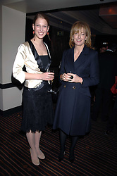 Left to right, LADY GABRIELLA WINDSOR and JULIA PEYTON-JONES at a lunch hosted by Ralph Lauren to present their Spring 2007 collection in support of the Serpentine Gallery's Education Programme, held at Fifty, 50 St.James's Street, London SW1 on 20th March 2007.<br /><br />NON EXCLUSIVE - WORLD RIGHTS