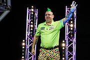 Peter Wright during the PDC Darts Players Championship at  at Butlins Minehead, Minehead, United Kingdom on 24 November 2017. Photo by Shane Healey.