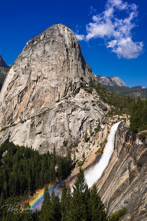 Nevada Fall and Liberty Cap, Yosemite National Park, California USA