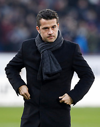 "Watford manager Marco Silva during the Premier League match at Turf Moor, Burnley. PRESS ASSOCIATION Photo. Picture date: Saturday December 9, 2017. See PA story SOCCER Burnley. Photo credit should read: Martin Rickett/PA Wire. RESTRICTIONS: EDITORIAL USE ONLY No use with unauthorised audio, video, data, fixture lists, club/league logos or ""live"" services. Online in-match use limited to 75 images, no video emulation. No use in betting, games or single club/league/player publications."