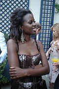 June Sarpong. The Business Summer party hosted by Andrew Neil. Italian Hotel, Ritz Hotel. 12 July 2005. ONE TIME USE ONLY - DO NOT ARCHIVE  © Copyright Photograph by Dafydd Jones 66 Stockwell Park Rd. London SW9 0DA Tel 020 7733 0108 www.dafjones.com