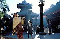 Nepal - Vallée de Kathmandu - Ville de Bakhtapur