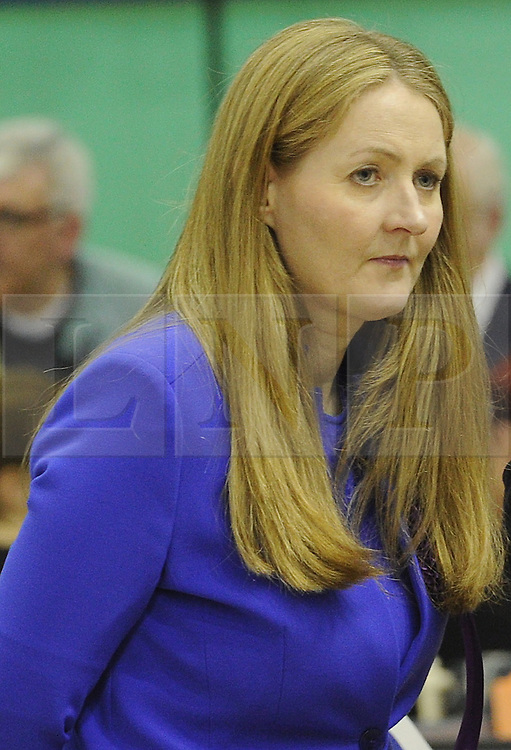 © Licensed to London News Pictures. 08/05/2015<br /> Local Parliamentary Elections TONIGHT (08.05.2015)<br />  Catriona Brown-Reckless,  is now a UKIP Councillor for Strood South after her win tonight at the Local election count in  Medway,Kent<br /> <br /> Local Election count 2015 in  Medway, Kent at Medway Park Sports Centre,Gillingham.<br />  <br /> (Byline:Grant Falvey/LNP)