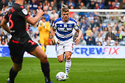 Queens Park Rangers Defender Jake Bidwell (3) during the EFL Sky Bet Championship match between Queens Park Rangers and Bolton Wanderers at the Loftus Road Stadium, London, England on 30 March 2019.