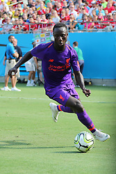 July 22, 2018 - Charlotte, NC, U.S. - CHARLOTTE, NC - JULY 22: Liverpool midfielder Naby Keita (8) during the 2nd half of the International Champions Cup match between Liverpool FC and Borussia Dortmund on July 22, 2018 at Bank of America Stadium in Charlotte, NC.(Photo by Jaylynn Nash/Icon Sportswire) (Credit Image: © Jaylynn Nash/Icon SMI via ZUMA Press)