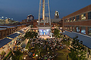 The Battle of the Bands at the American Tobacco campus in Durham, North Carolina on September 22, 2012