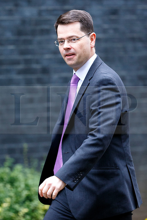 © Licensed to London News Pictures. 21/02/2017. London, UK. Secretary of State for Northern Ireland JAMES BROCKENSHIRE attends a cabinet meeting in Downing Street, London on Tuesday, 21 February  2017. Photo credit: Tolga Akmen/LNP