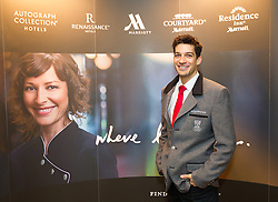 29.01.2014,  Marriott, Wien, AUT, Sochi 2014, Einkleidung OeOC, im Bild Andreas Kofler // Andreas Kofler during the outfitting of the Austrian National Olympic Committee for Sochi 2014 at the  Marriott in Vienna, Austria on 2014/01/29. EXPA Pictures © 2014, PhotoCredit: EXPA/ JFK