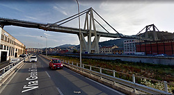 A highway bridge has partially collapsed near Genoa Italy. At least 30 people are believed to have died as a large section of the Morandi viaduct upon which the A10 motorway runs collapsed in Genoa, Italy.