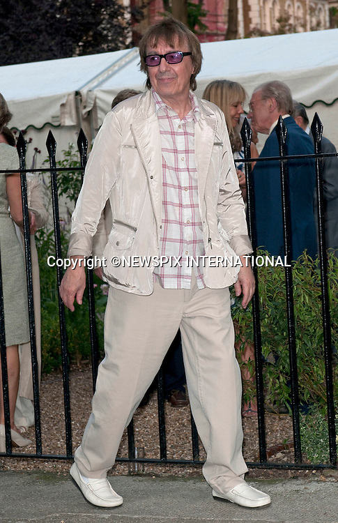 """BILL WYMAN.David Frost's annual party attended by Royalty; Celebrities and Politicians, London_02/07/2009.Mandatory Photo Credit: ©Dias/Newspix International..**ALL FEES PAYABLE TO: """"NEWSPIX INTERNATIONAL""""**..PHOTO CREDIT MANDATORY!!: NEWSPIX INTERNATIONAL(Failure to credit will incur a surcharge of 100% of reproduction fees)..IMMEDIATE CONFIRMATION OF USAGE REQUIRED:.Newspix International, 31 Chinnery Hill, Bishop's Stortford, ENGLAND CM23 3PS.Tel:+441279 324672  ; Fax: +441279656877.Mobile:  0777568 1153.e-mail: info@newspixinternational.co.uk"""