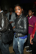 Estelle at John Legend Presents Vaughn Anthony at SOB's, the second artis off his label ' HomeSchool Records'  in New York City on May 14, 2009