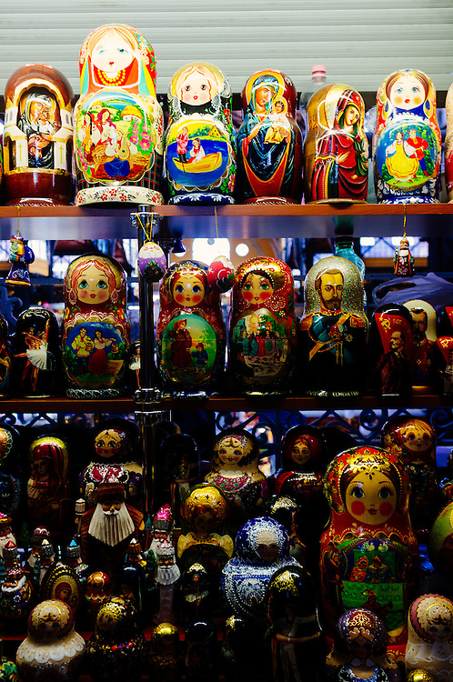 Hungarian dolls in the Great Market Hall