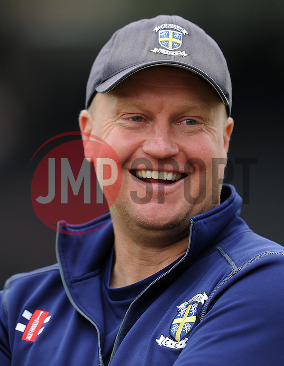 Durham's Coach Jonathan Lewis - Photo mandatory by-line: Harry Trump/JMP - Mobile: 07966 386802 - 29/07/15 - SPORT - CRICKET - Somerset v Durham - Royal London One Day Cup - The County Ground, Taunton, England.