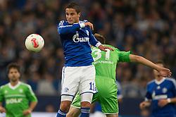 06-10-2012 VOETBAL: FC SCHALKE 04 - VFL WOLFSBURG: GELSENKIRCHEN<br /> Ibrahim Afellay<br /> ***NETHERLANDS ONLY***<br /> ©2012-FotoHoogendoorn.nl-Kurth