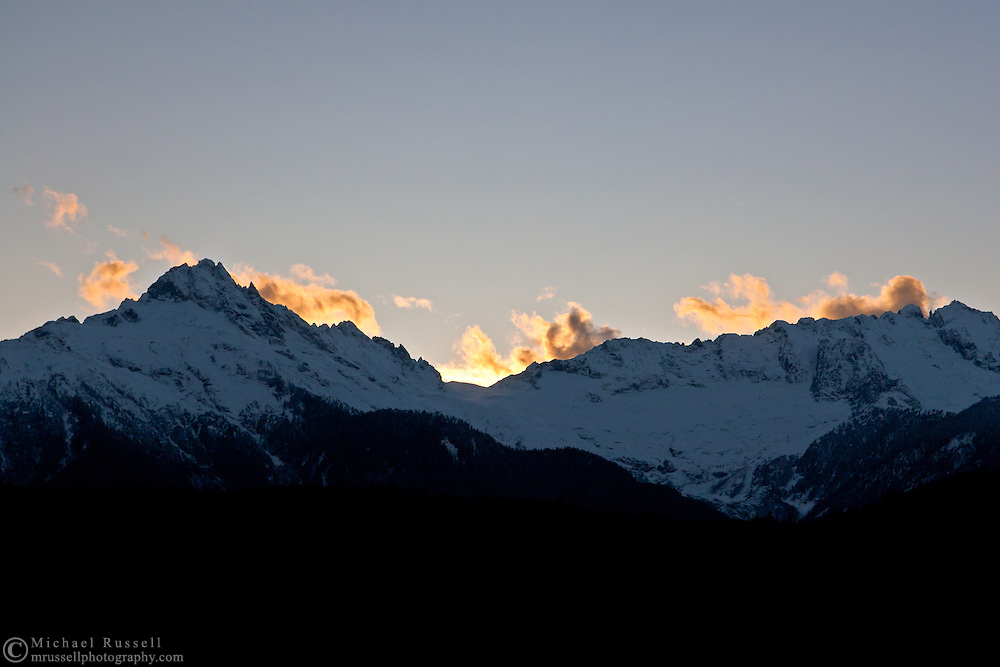 Alpha Mountain and Mount Dione in the Tantalus Range - Tantalus Provincial Park near Squamish, British Columbia, Canada