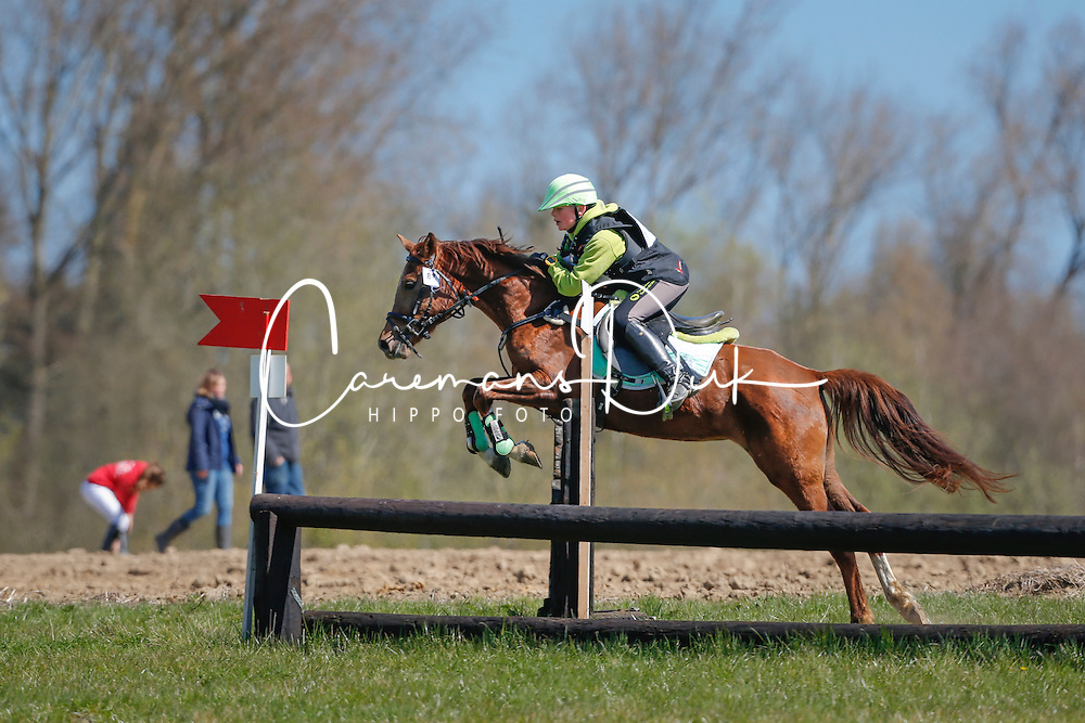 Verwimp Jarno (BEL) - Urania Oudenbergs<br /> Nationale Pony eventing Affligem 2013<br /> &copy; Dirk Caremans