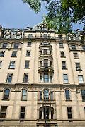 Dakota building former John Lennon home, Central Park, Manhattan,New York,U.S.A.