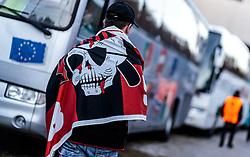 20.10.2016, Red Bull Arena, Salzburg, AUT, UEFA EL, FC Red Bull Salzburg vs OGC Nizza, Gruppe I, im Bild Nizza Fans vor dem Stadion // Nice Supporters infront of the Stadion during the UEFA Europa League group I match between FC Red Bull Salzburg and OGC Nizza at the Red Bull Arena in Salzburg, Austria on 2016/10/20. EXPA Pictures © 2016, PhotoCredit: EXPA/ JFK