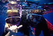 Boys snorkling<br />