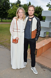 POPPY JAMIE and FREDDIE A'BRASSARD at a party hosted by fashion store COS to celebrate The Serpentine Park Nights 2016 held at The Serpentine Gallery, Kensington Gardens, London on 12th July 2016.