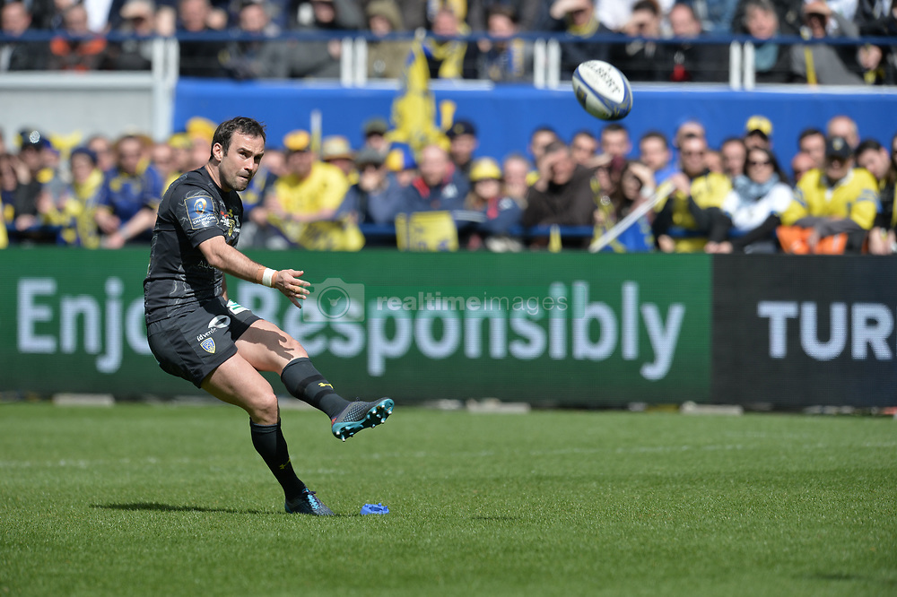 April 1, 2018 - Clermont Ferrand - Stade Marcel, France - Morgan Parra  (Credit Image: © Panoramic via ZUMA Press)