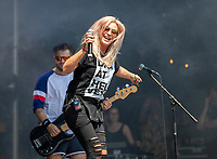 2019-06-06 | Norje, Sweden: Lillasyster celebrating the swedish national day  with special guest at Sweden Rock Festival ( Photo by: Roger Linde | Swe Press Photo )<br /> <br /> Keywords: Sweden Rock Festival, Norje, Festival, Sweden Rock Festival, SRF, Lillasyster
