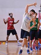 DESCRIZIONE : Trieste ritiro nazionale italiana maschile - Allenamento<br /> GIOCATORE : Andrea Bargnani<br /> CATEGORIA : nazionale maschile senior A <br /> GARA : Trieste ritiro nazionale italiana maschile - Allenamento <br /> DATA : 15/07/2014 <br /> AUTORE : Agenzia Ciamillo-Castoria