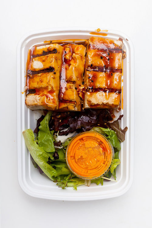 Tofu Teriyaki Plate from Glaze ($9.80)