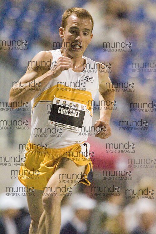 13 July 2007 (Windsor--Canada) -- The 2007 Canadian National Track and Field Championships... Reid Coolsaet competing in the men's 5000m.