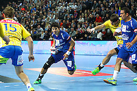 Diego Simonet - 15.03.2015 - Montpellier / Kielce - 1/8Finale aller Ligue des Champions<br /> Photo : Andre Delon / Icon Sport