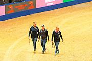 Vanessa Ruiter, Alan Davies, Anna Visser<br /> Olympia Horse Show 2016<br /> &copy; DigiShots